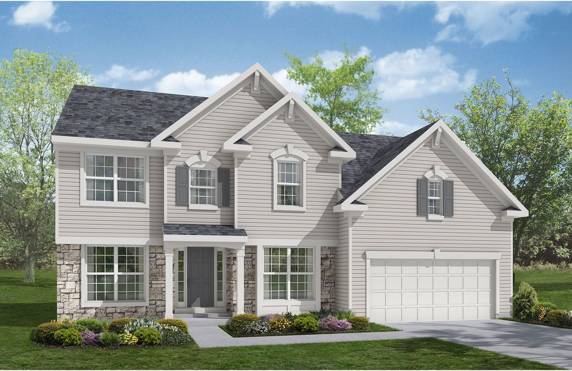 Patterson - Baker's Creek at Echo Lake: Strongsville, OH - Drees Homes