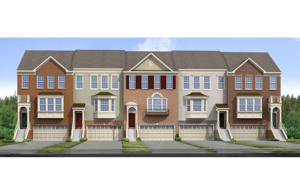 St. Michaels II - Colonial Forge Townhomes: Stafford, VA - Drees Homes