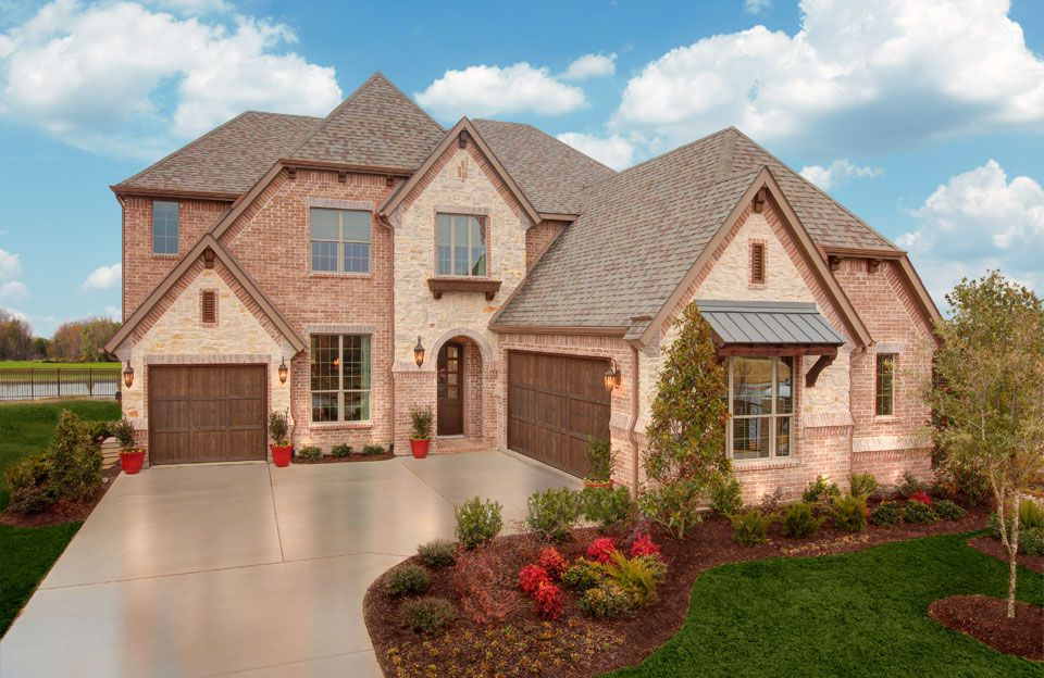 Bracken III - Cumberland Crossing: Allen, TX - Drees Custom Homes