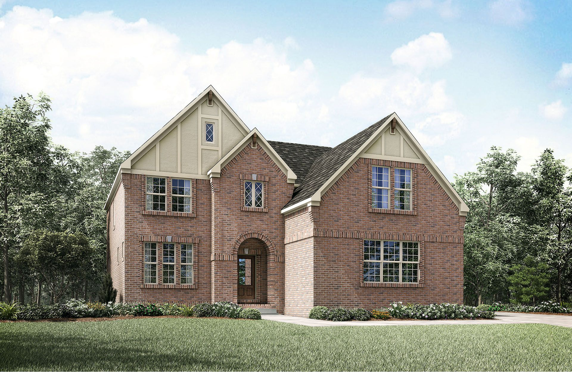 Columbia - The Villages of Berkshire: Murfreesboro, TN - Drees Homes