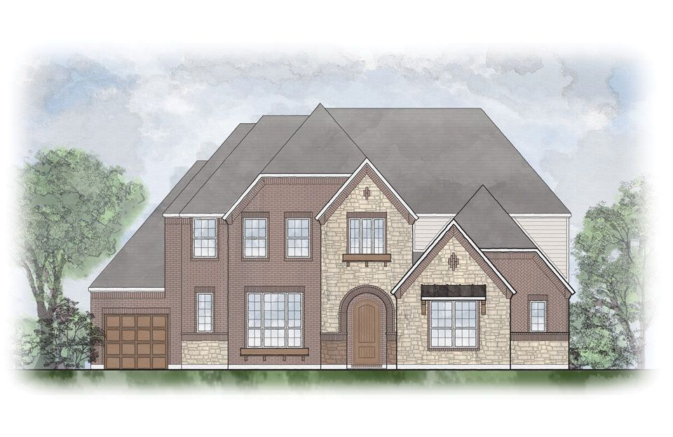 Brantley - Willow Ridge: Prosper, TX - Drees Custom Homes