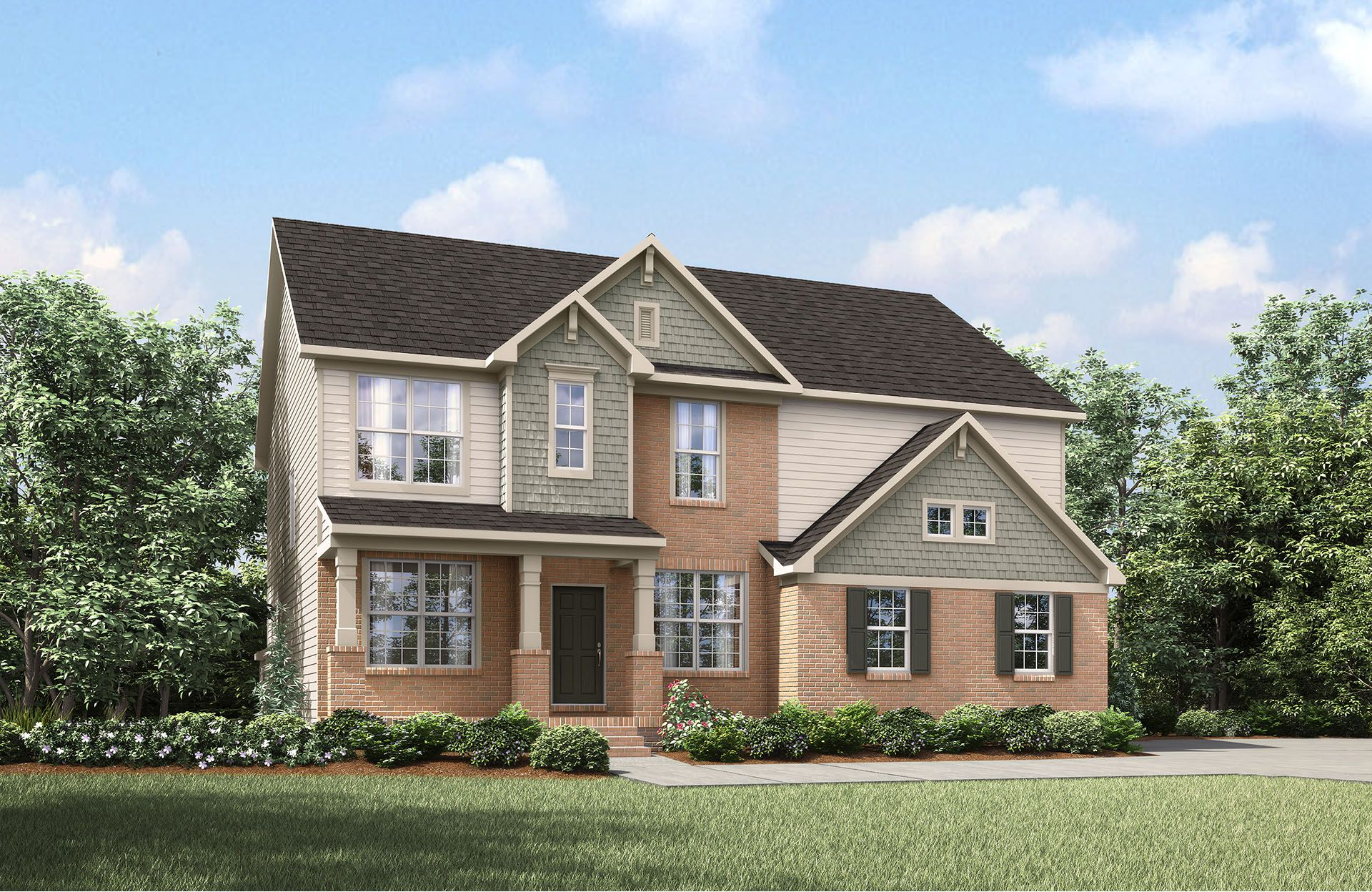 Buchanan - Park at West Lake: Apex, NC - Drees Homes