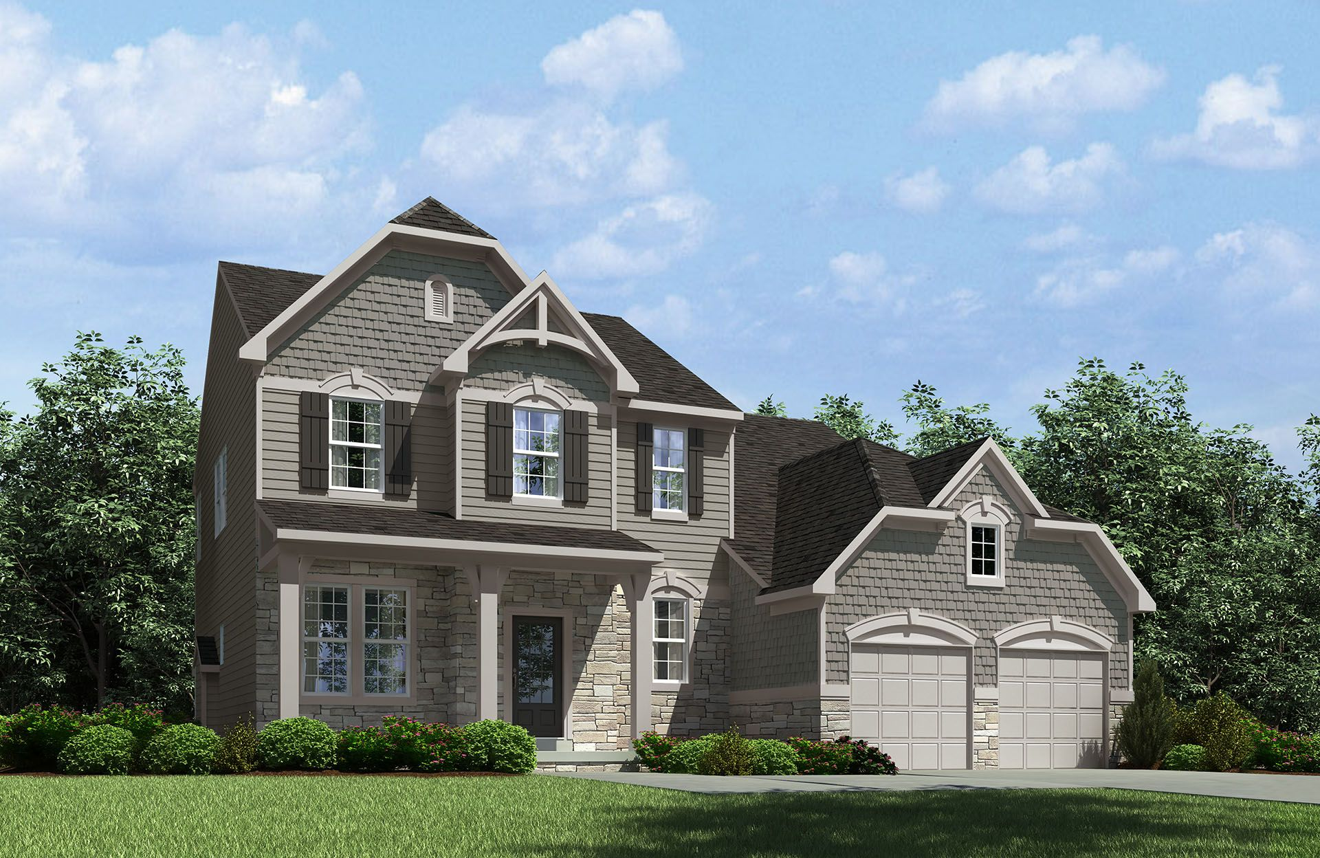 Celestial - Spring Hill Highlands: Uniontown, OH - Drees Homes