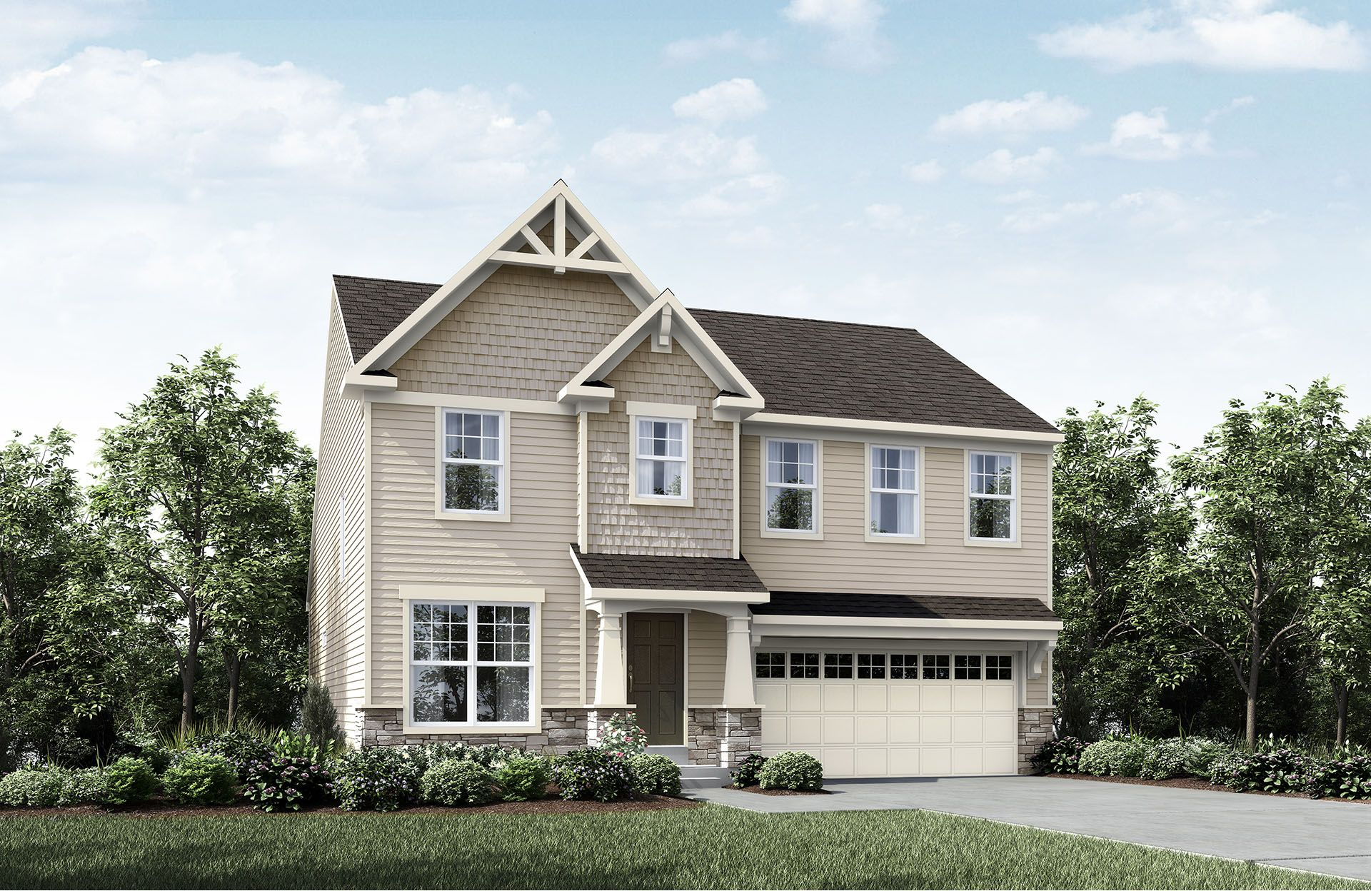 Chester - Baker's Creek at Echo Lake: Strongsville, OH - Drees Homes