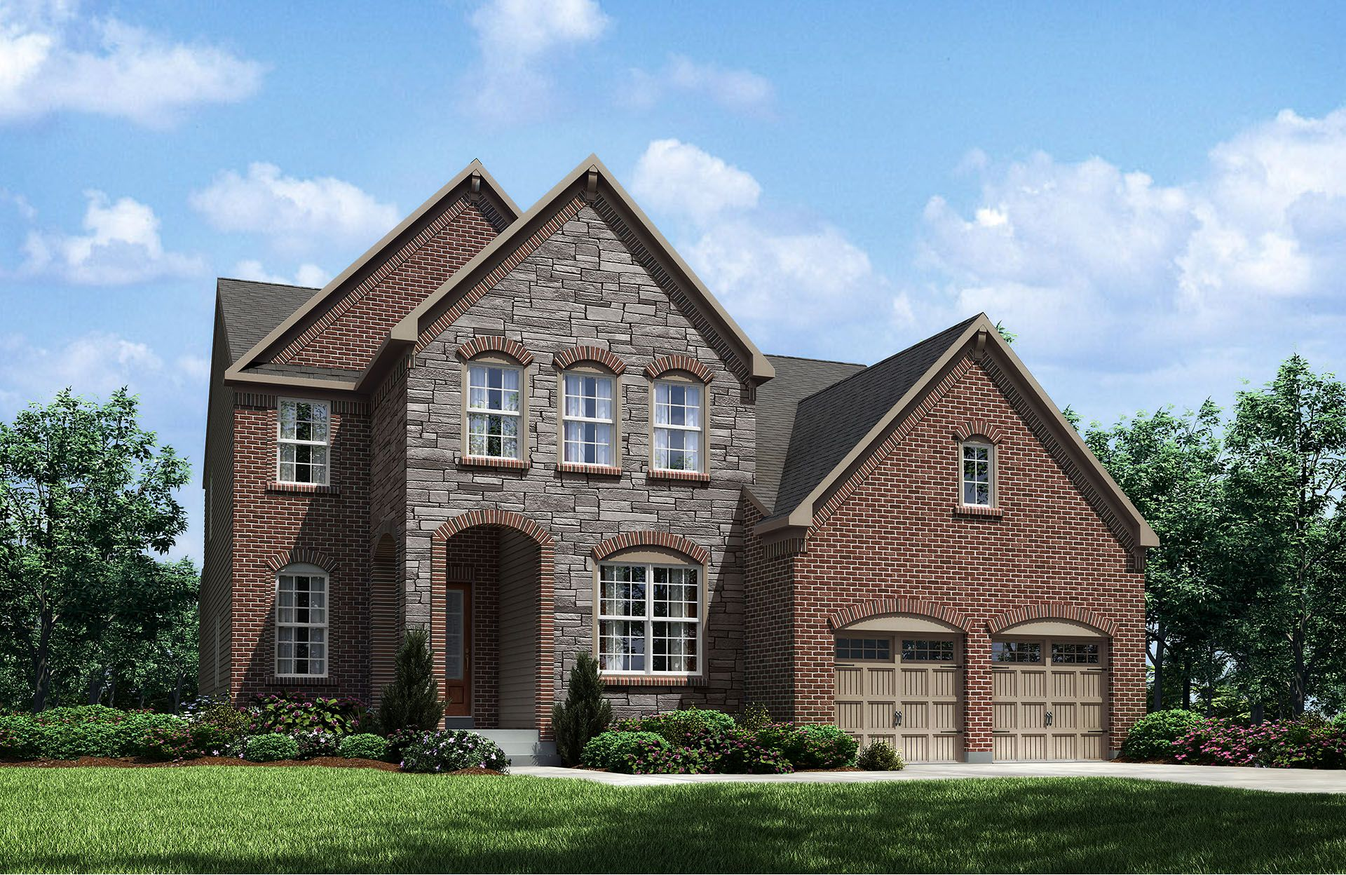 Harper - West  Hampton: Strongsville, OH - Drees Homes