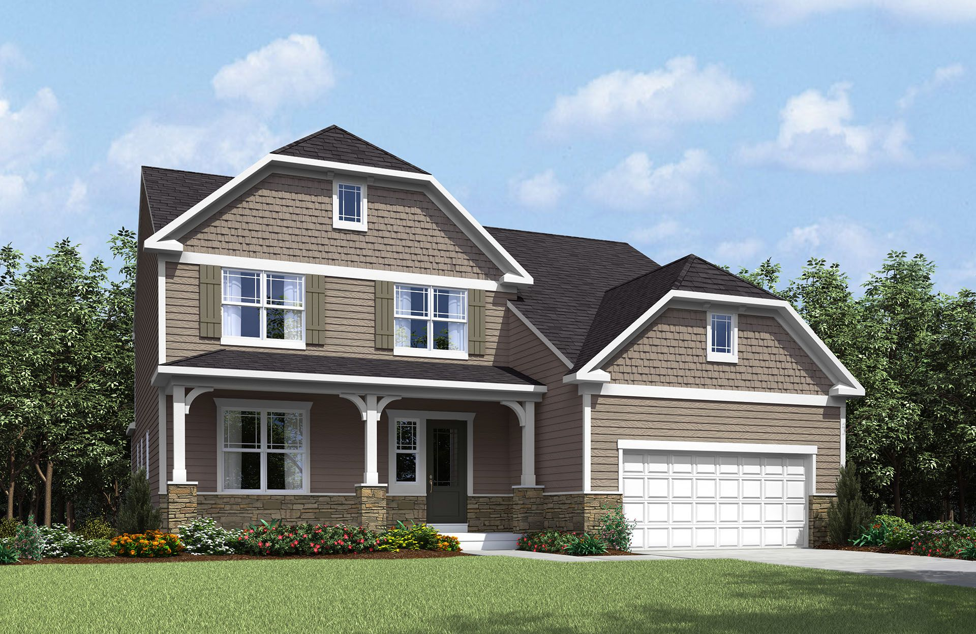 Rowan - Spring Hill Highlands: Uniontown, OH - Drees Homes