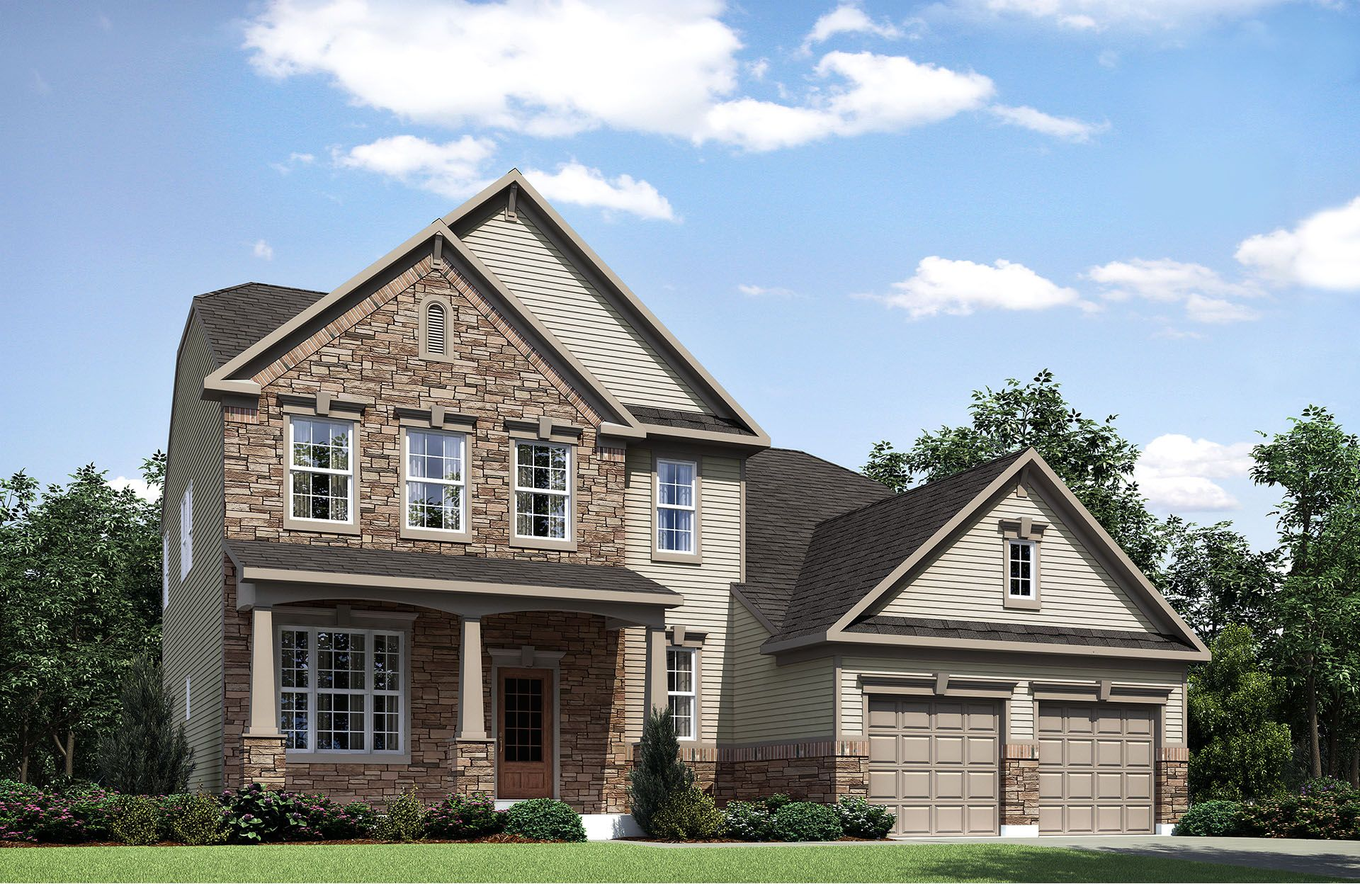 Celestial - West  Hampton: North Royalton, OH - Drees Homes