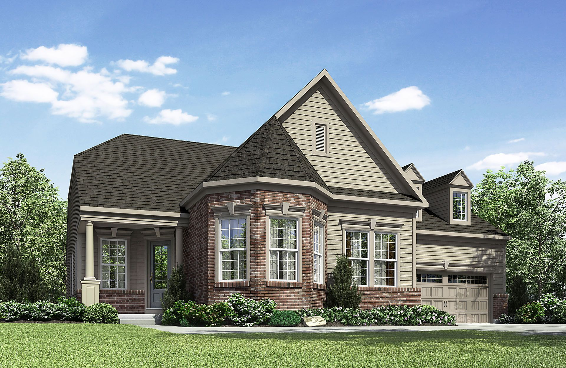 Jayden - The Commons at Woodcreek Farms: Brownsburg, IN - Drees Homes