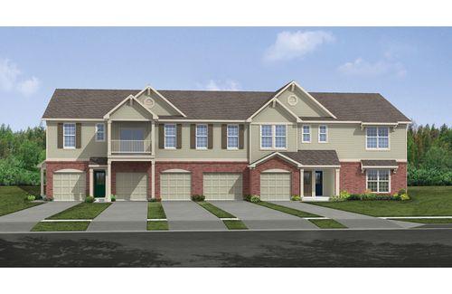 Villages of Daybreak Community: Villages of Daybreak Condos & Townes by Drees Homes in Cincinnati Ohio