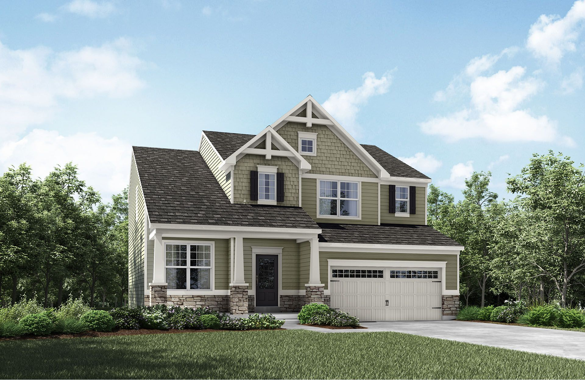 Dempsey - Bexley Place: Strongsville, OH - Drees Homes