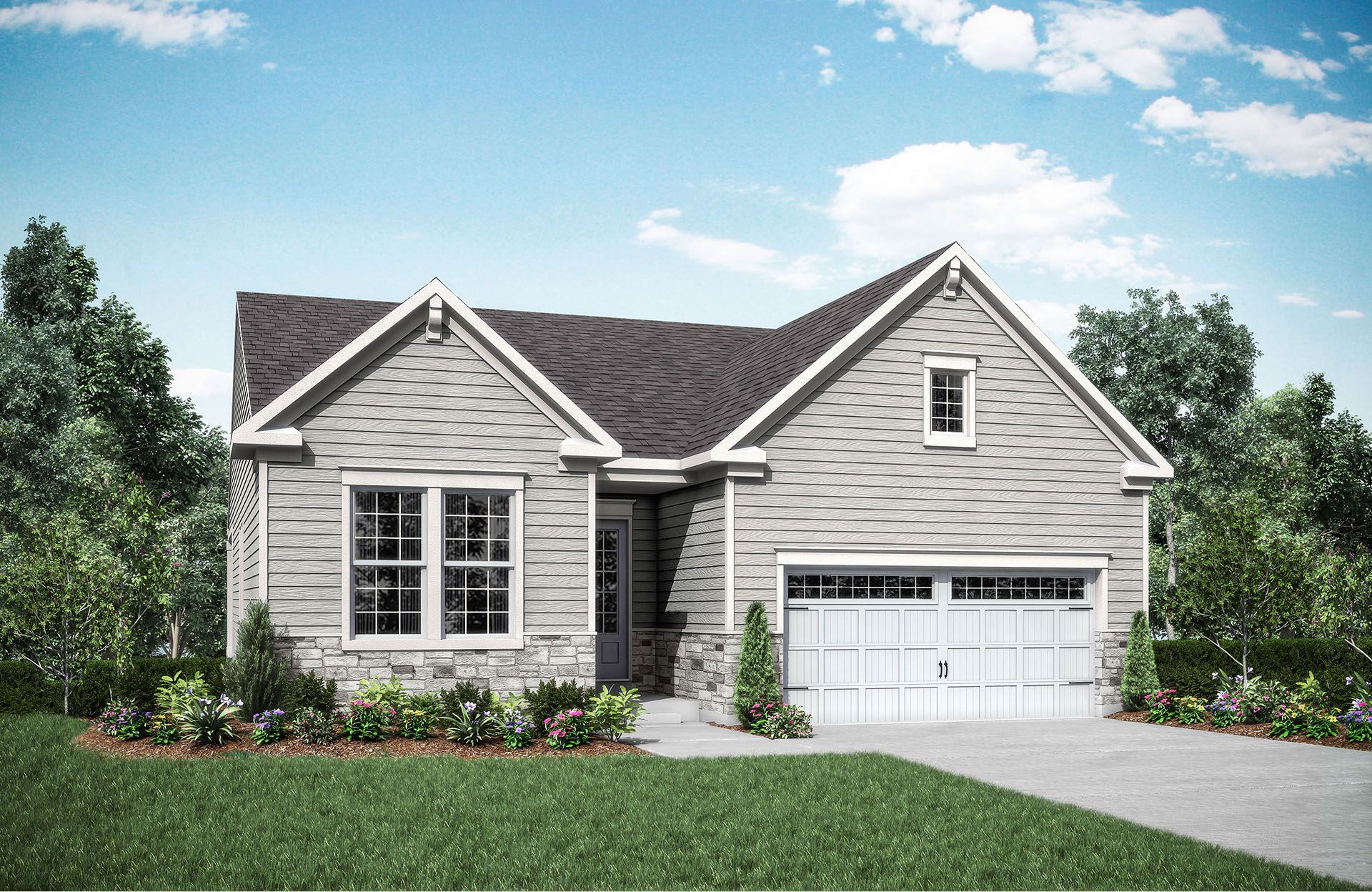 Casselberry - Heritage at Miami Bluffs: Maineville, OH - Drees Homes