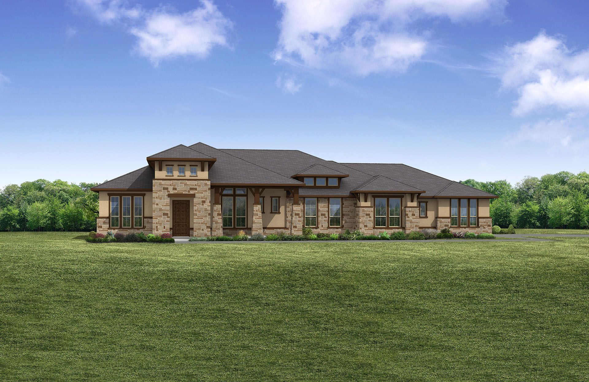 Crystal Falls: Cap Rock Estates Crystal Falls by Drees Custom Homes