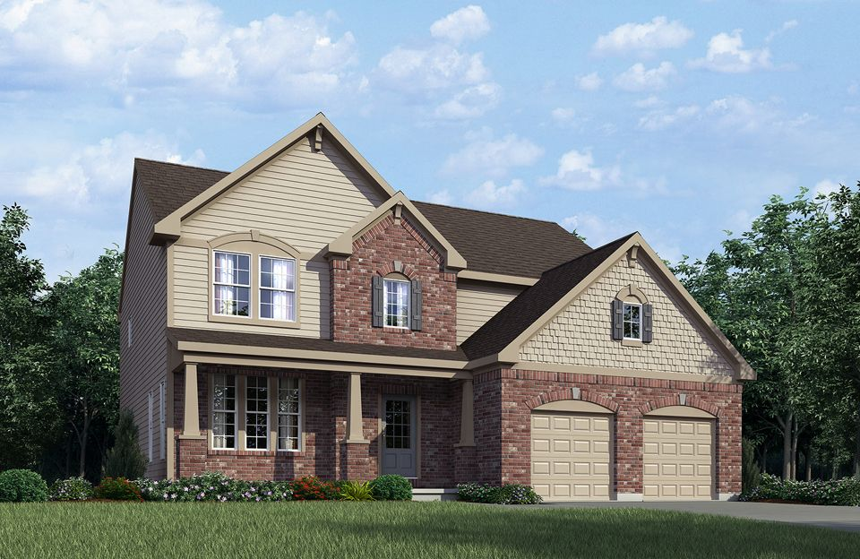 Columbia - Emerald Ridge: Indianapolis, IN - Drees Homes