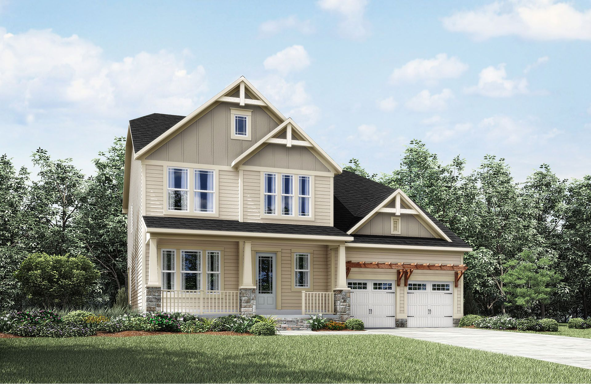 Hadley - Park at West Lake: Apex, NC - Drees Homes