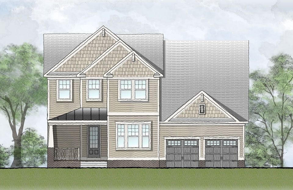 Owen - Park at West Lake: Apex, NC - Drees Homes