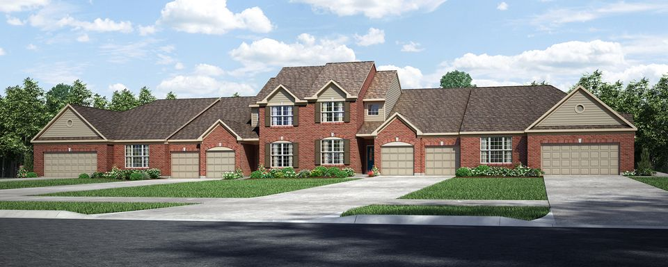 Linden II - White Pillars Towne: Loveland, OH - Drees Homes