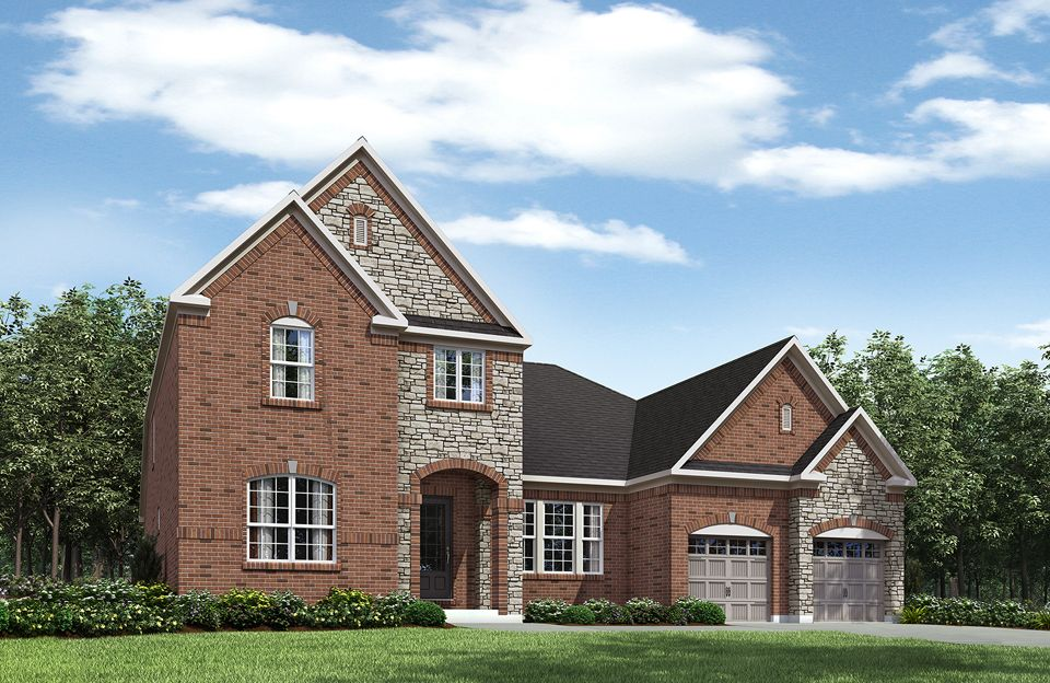 Sebastian II - Eagles Watch at Ingram's Ridge: West Chester, OH - Drees Homes
