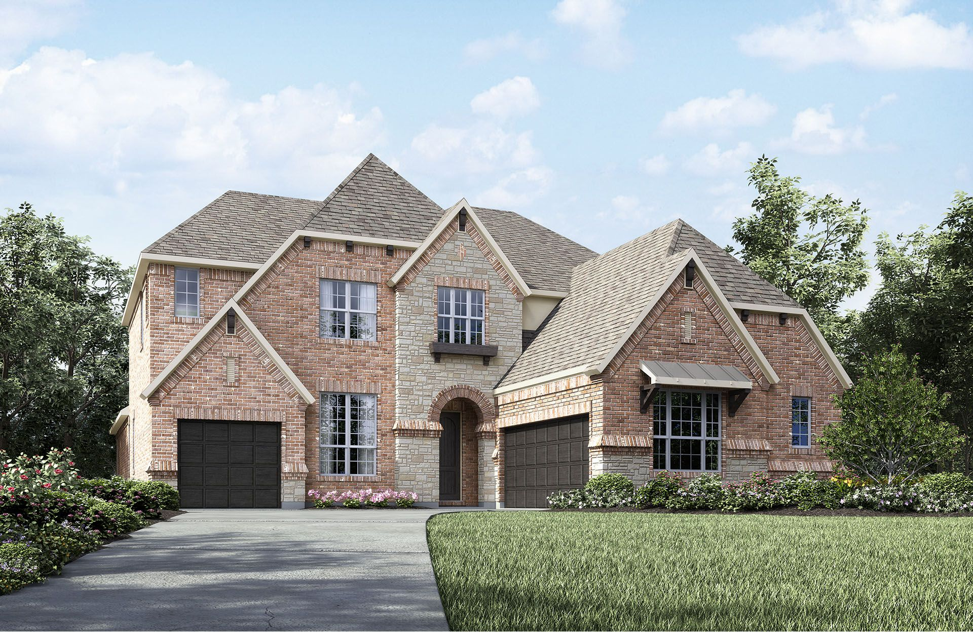 Bracken III - Phillips Creek Ranch: Frisco, TX - Drees Custom Homes