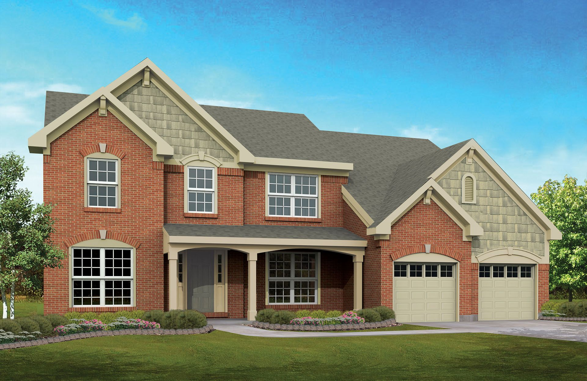 Graham - Yorkshire Reserve: Miamisburg, OH - Drees Homes
