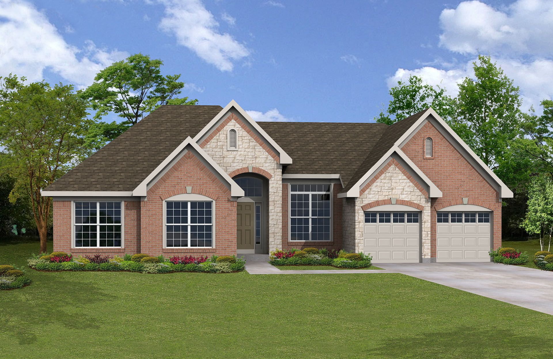 Piedmont - Red Stone Village: Union, KY - Drees Homes