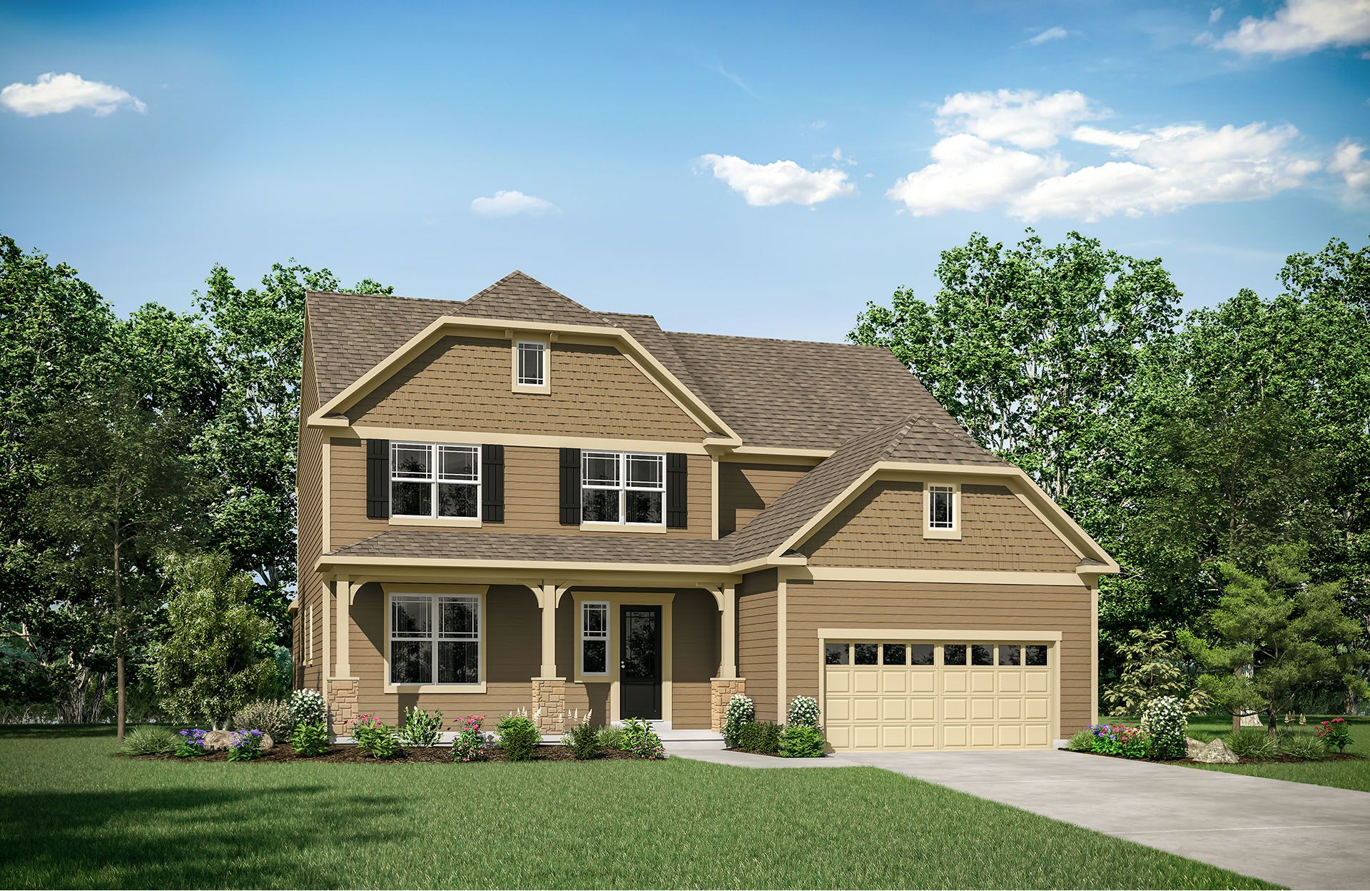 Rowan - The Preserve at Smith Run: Fredericksburg, VA - Drees Homes