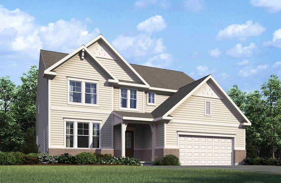 Columbia - Belmont Place at Brooks Park: Fishers, IN - Drees Homes
