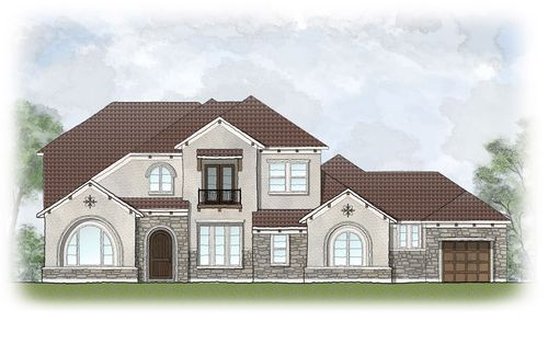 Travisso by Drees Custom Homes in Austin Texas
