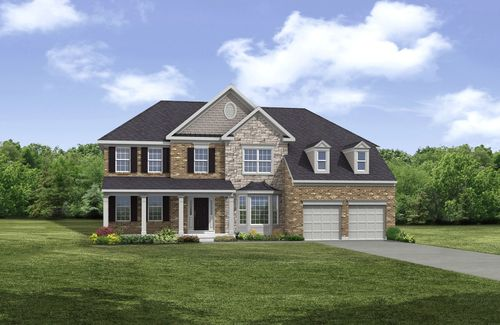 house for sale in Brookside Crossing by Drees Homes
