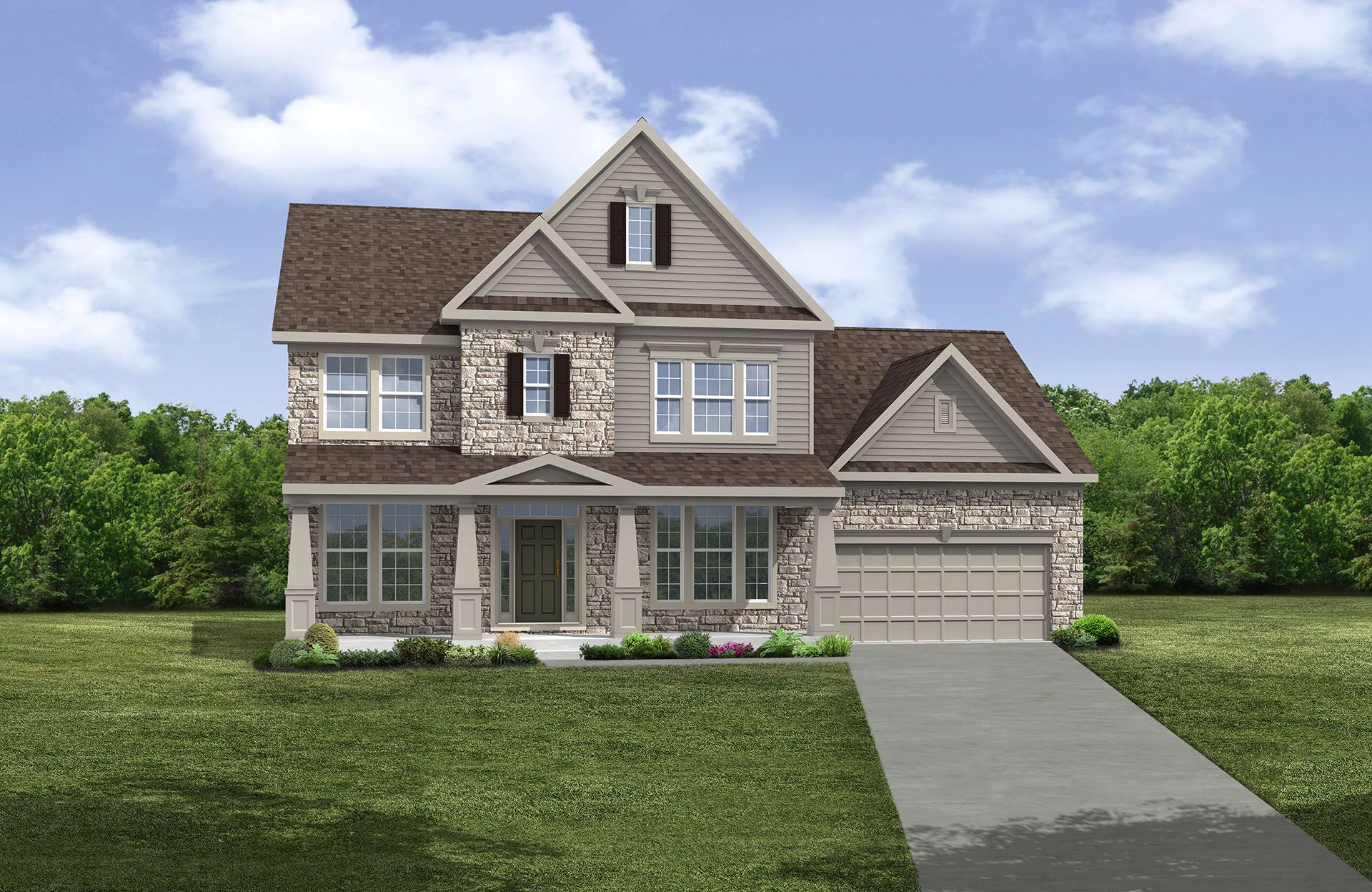 Pembroke - Highland Park: Avon, OH - Drees Homes