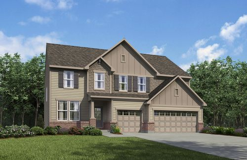 Stillwood by Drees Homes in Akron Ohio