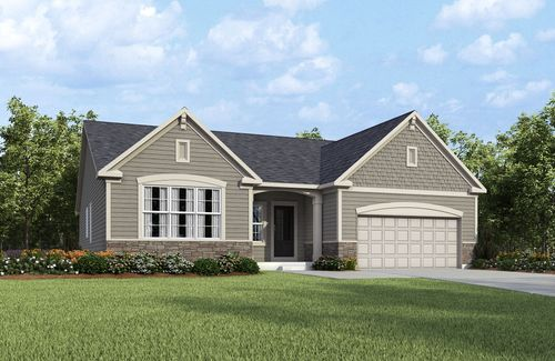Meadows of Aurora by Drees Homes in Akron Ohio