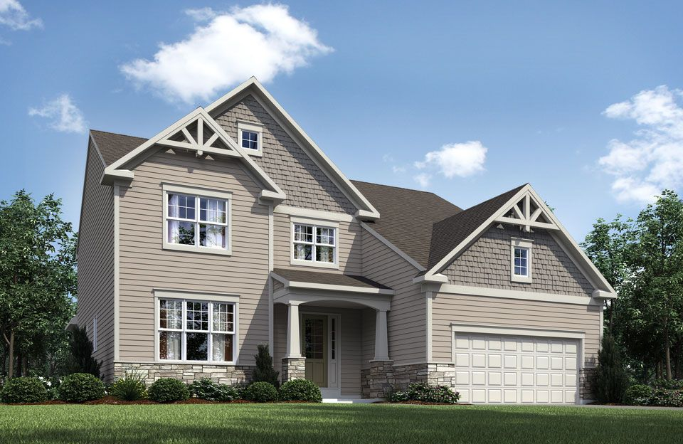 Rowan - West  Hampton: Strongsville, OH - Drees Homes