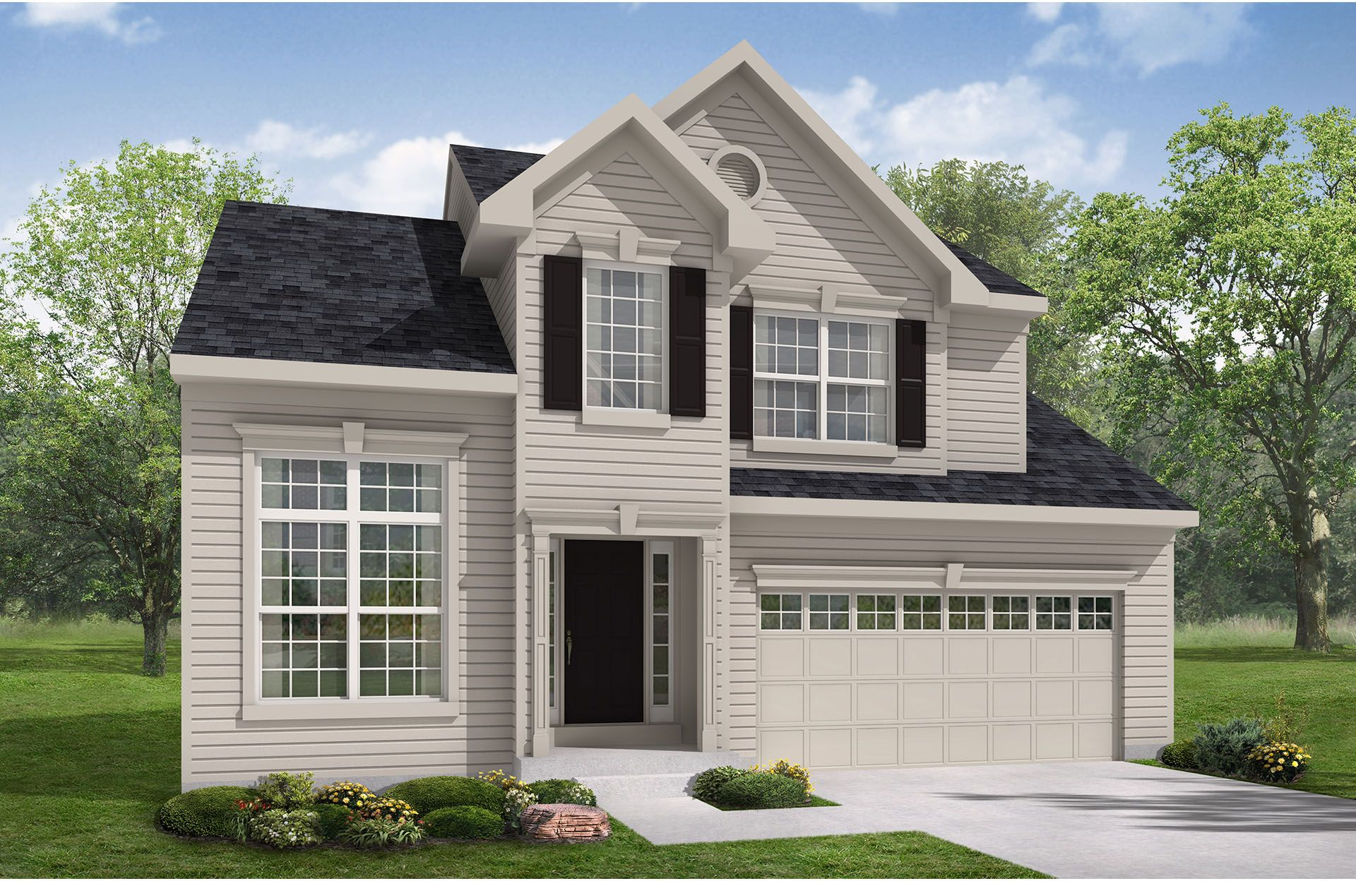 Crosby - Bexley Place: Strongsville, OH - Drees Homes