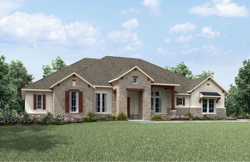 Clearwater Ranch by Drees Custom Homes in Austin Texas