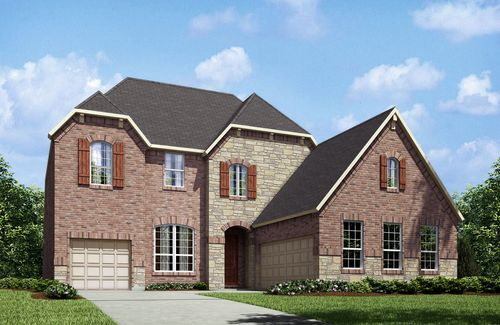 house for sale in Cumberland Crossing by Drees Custom Homes