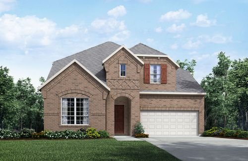 Barcelona by Drees Custom Homes in Dallas Texas
