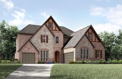 Woodford by Drees Custom Homes in Fort Worth Texas