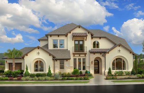 Travisso by Drees Custom Homes in Austin Texas