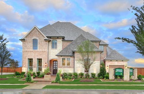 Canyon Falls by Drees Custom Homes in Dallas Texas