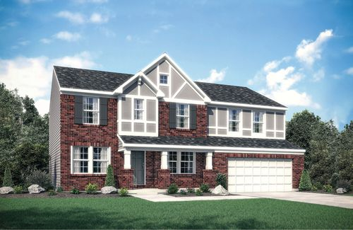 house for sale in Crosspointe by Drees Homes