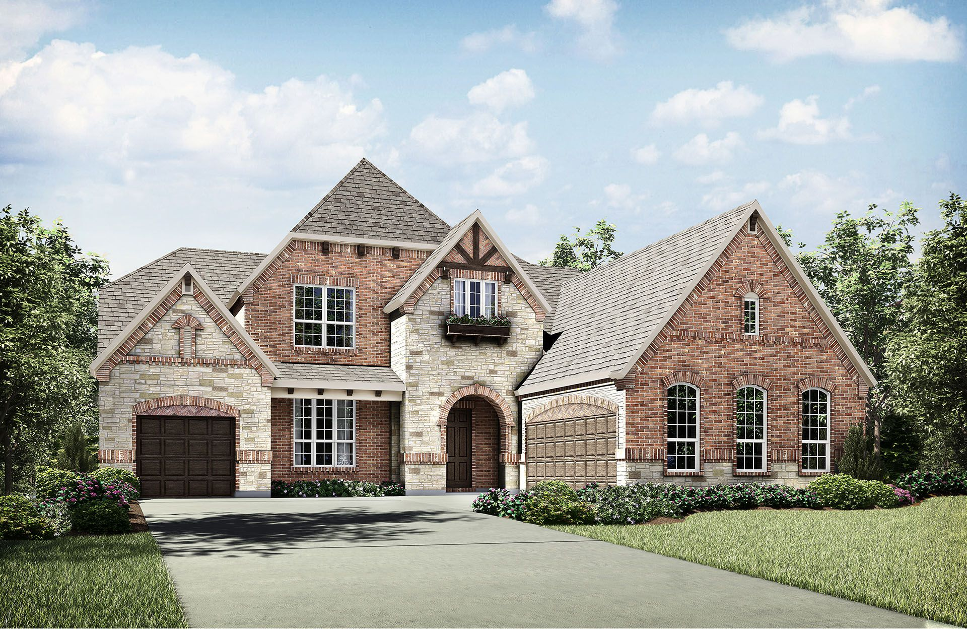 Brinkley - Phillips Creek Ranch: Frisco, TX - Drees Custom Homes