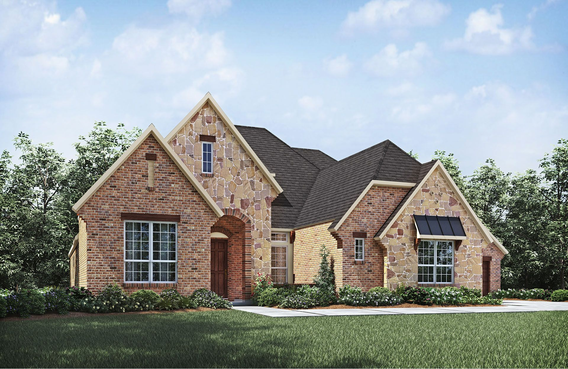 Lauren II - Buffalo Creek: Rockwall, TX - Drees Custom Homes