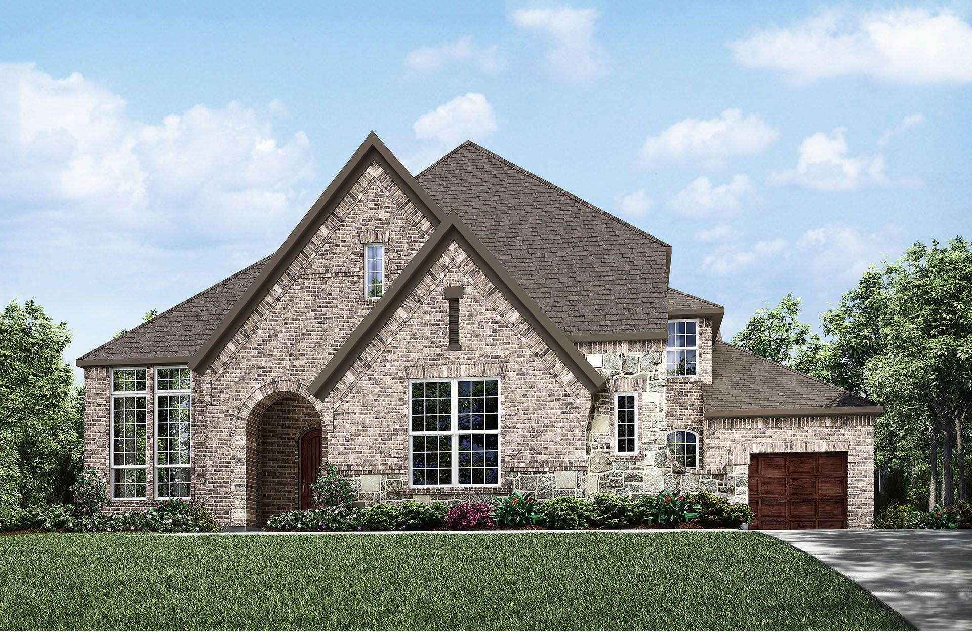 Sacramento III - Cumberland Crossing: Allen, TX - Drees Custom Homes