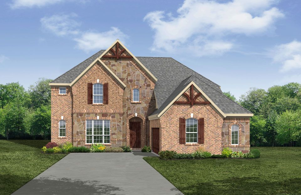 Bracken II - Cumberland Crossing: Allen, TX - Drees Custom Homes