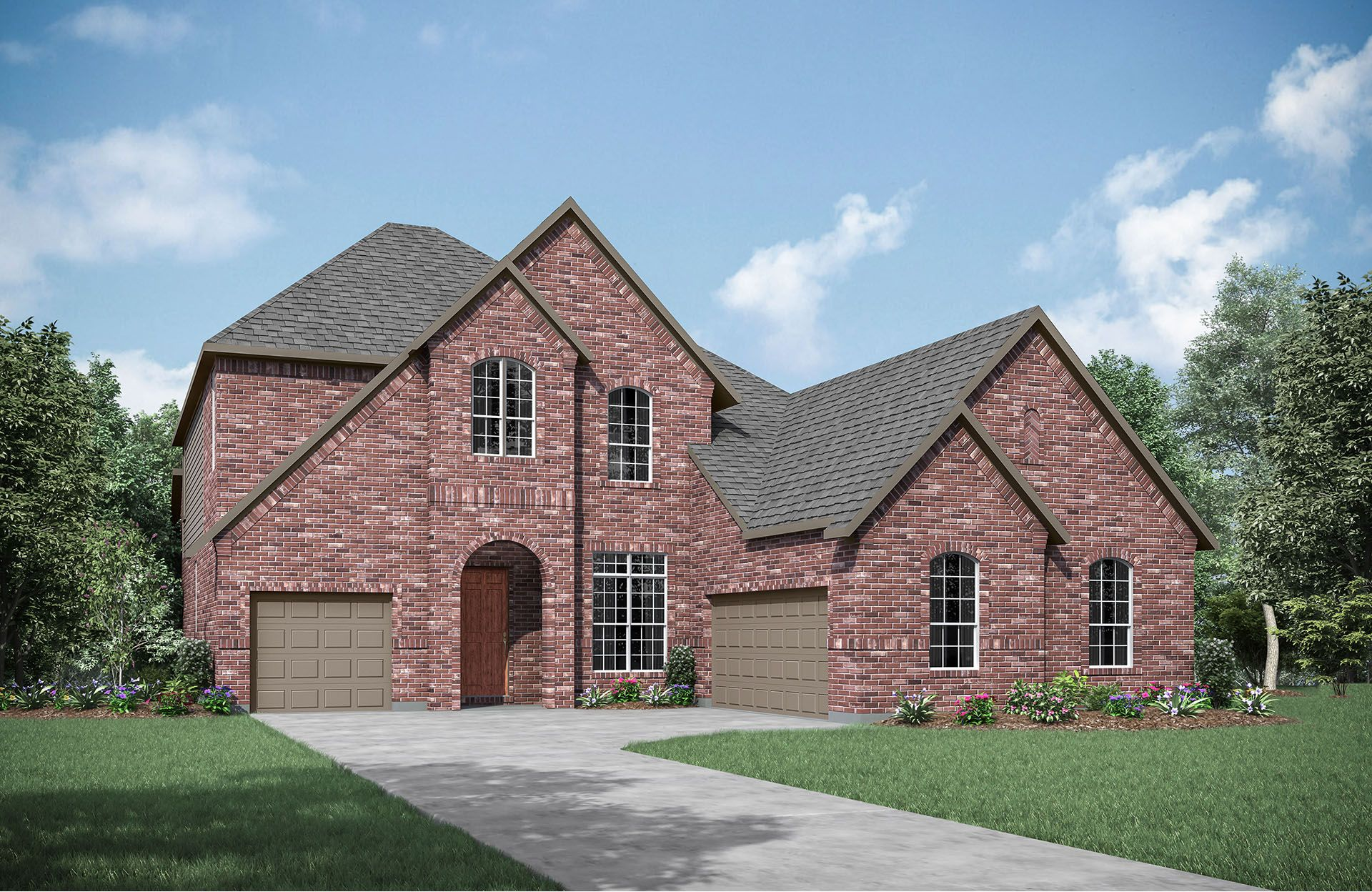 Deerfield J - Cumberland Crossing: Allen, TX - Drees Custom Homes