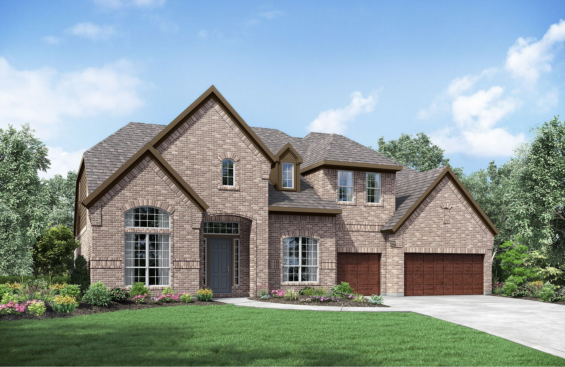Driscoll - Gabriels Grove: Georgetown, TX - Drees Custom Homes