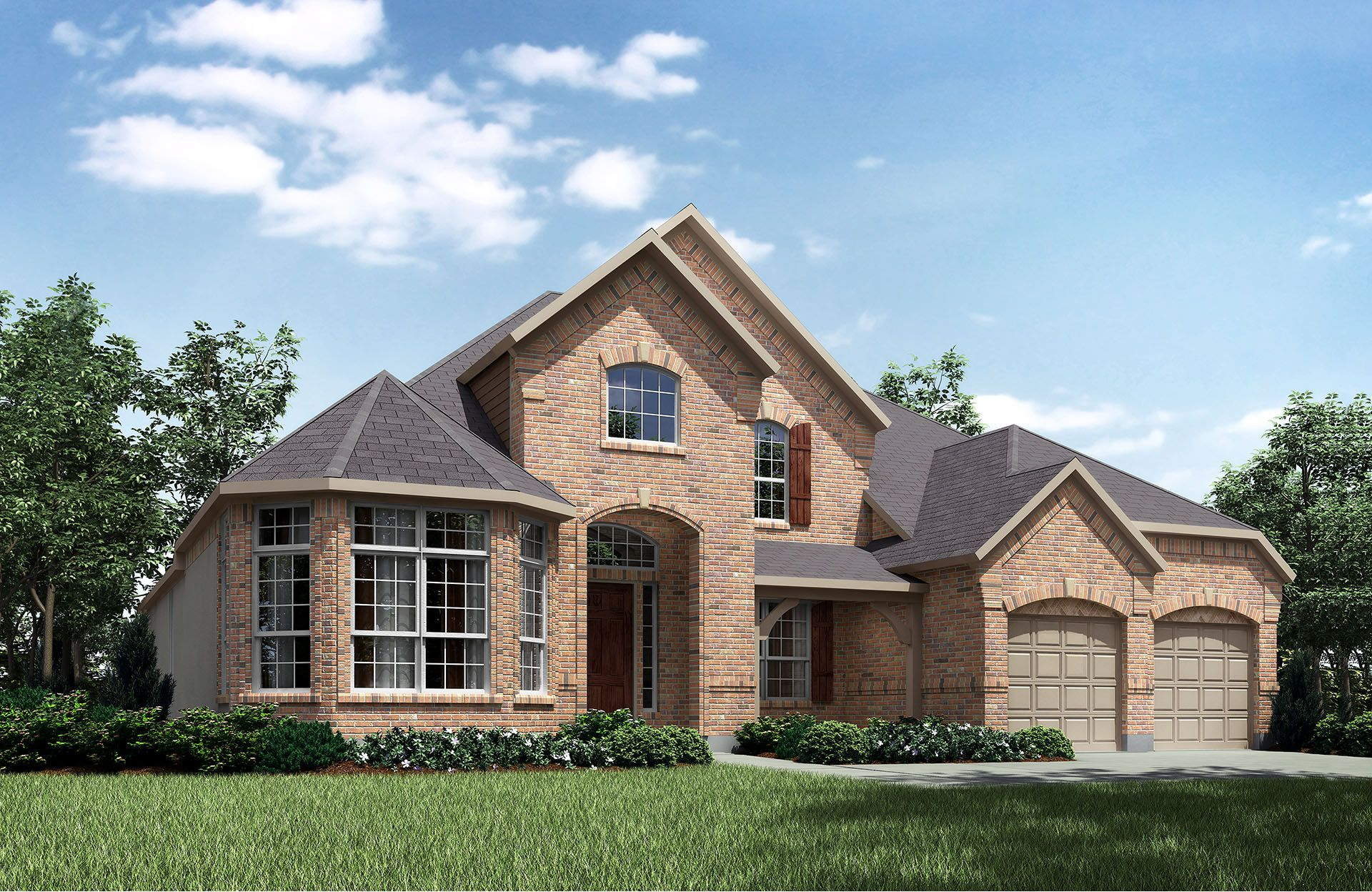 Hartford II - Gabriels Grove: Georgetown, TX - Drees Custom Homes