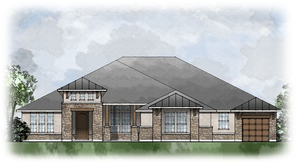 Hayden - Gabriels Grove: Georgetown, TX - Drees Custom Homes