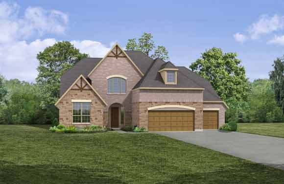 Kenwood F - Sarita Valley: Leander, TX - Drees Custom Homes