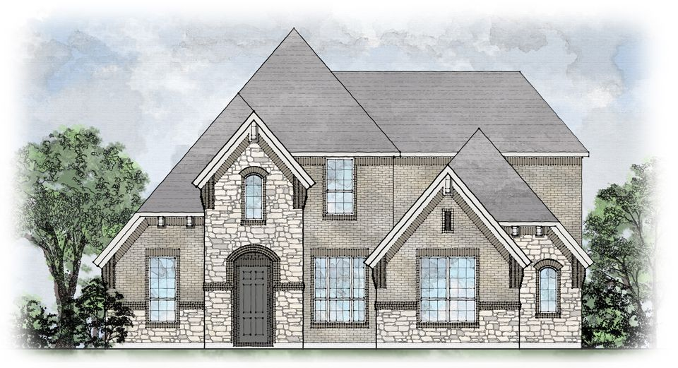 Lorenzo II - Villas of Volterra: Keller, TX - Drees Custom Homes